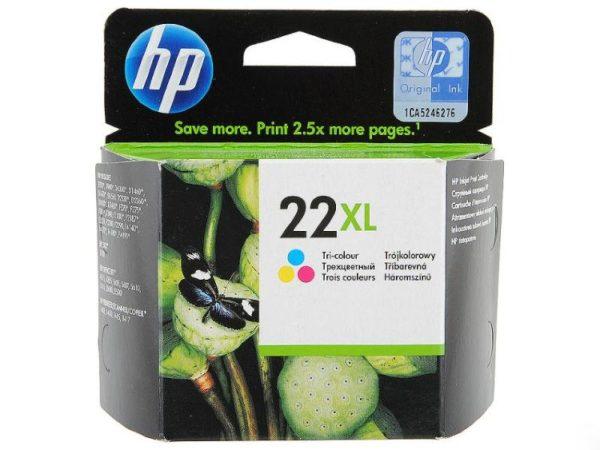 Картридж HP C9352CE №22XL цветной увеличенный для DJF370/F380/F2180/F4180
