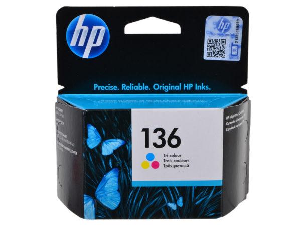 Картридж HP C9361HE №136 цветной для 5443
