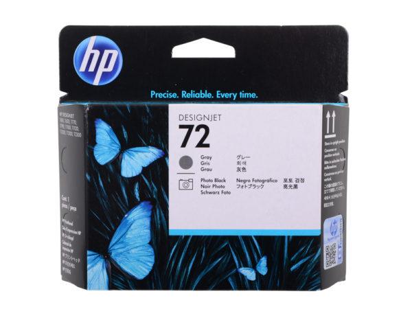 Печатающая головка HP C9380A №72 черная+серая для Designjet T1100ps