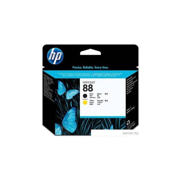 Печатающая головка HP C9381A №88 черная+желтая для Officejet Pro K550/K5400