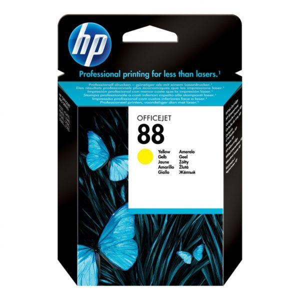 Картридж HP C9388AE №88 желтый стандартный для Officejet Pro K550
