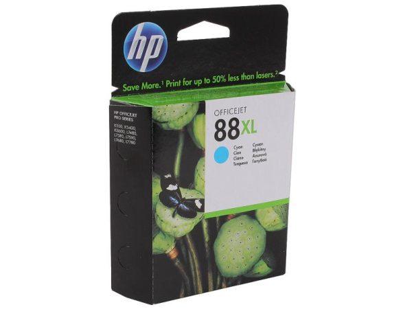 Картридж HP C9391AE №88 голубой увеличенный для Officejet Pro K550