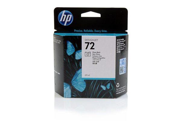 Картридж HP C9397A №72 черный для T1100ps, 69 мл