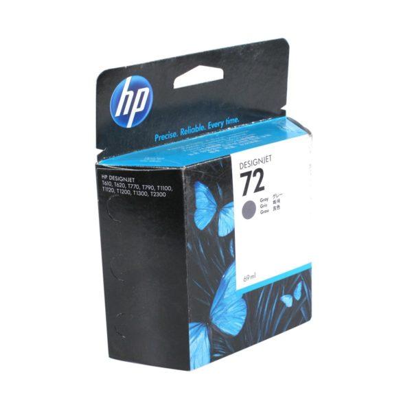 Картридж HP C9401A №72 серый для T1100ps, 69 мл