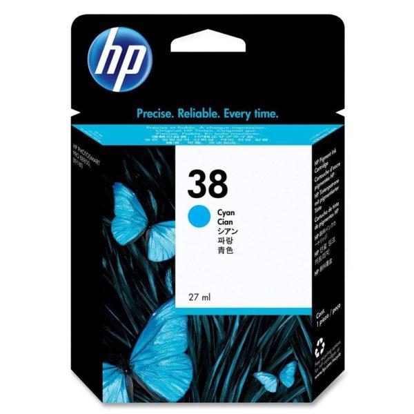 Картридж HP C9415A №38 синий для Photosmart pro B9180