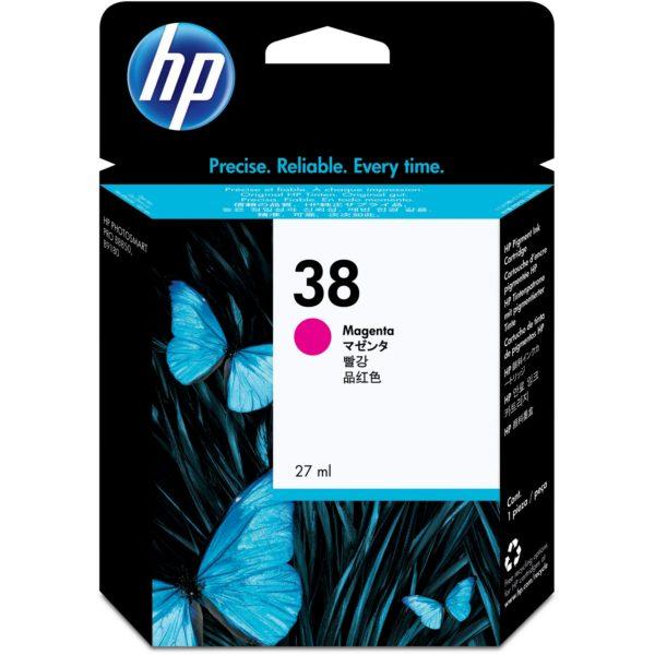 Картридж HP C9416A №38 малиновый для Photosmart pro B9180