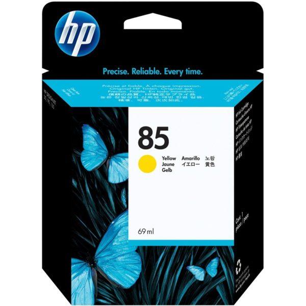 Картридж HP C9417A №38 желтый для Photosmart pro B9180