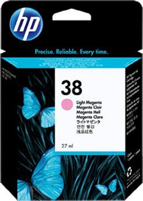Картридж HP C9419A №38 светло-малиновый для Photosmart pro B9180