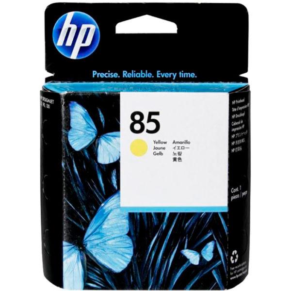 Печатающая головка HP C9422A №85 желтый для DGNJ30/90/130