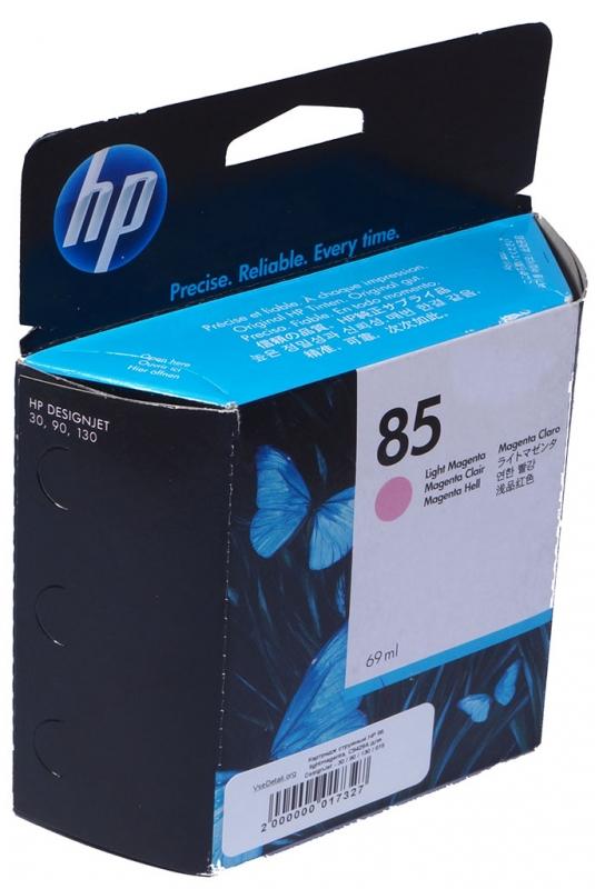 Картридж HP C9429A №85 светло-малиновый для Designjet 30/130