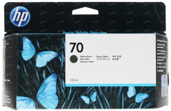 Картридж HP C9448A №70 матово-черный для DesignjetZ2100/Z3100 130 мл