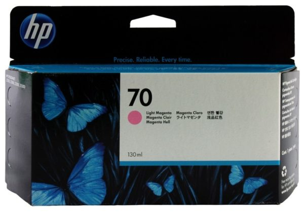Картридж HP C9455A №70 светло-малиновый для DesignjetZ2100/Z3100 130 мл