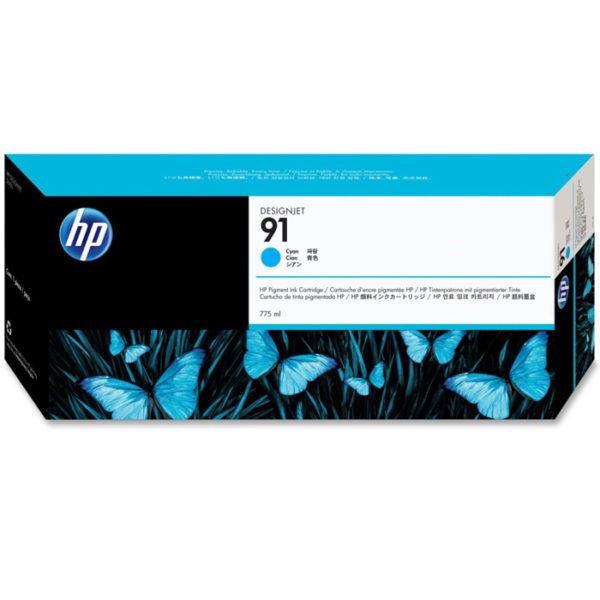 Картридж HP C9467A №91 синий для Designjet Z6100 775мл