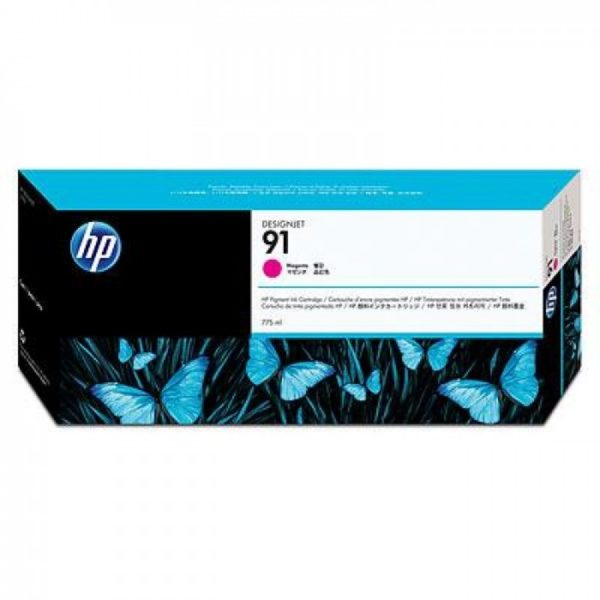 Картридж HP C9468A №91 малиновый для Designjet Z6100 775мл