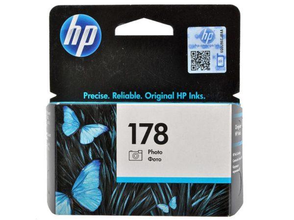 Картридж HP CB317HE №178 фото-черный стандартный для Photosmart C5383/C6383