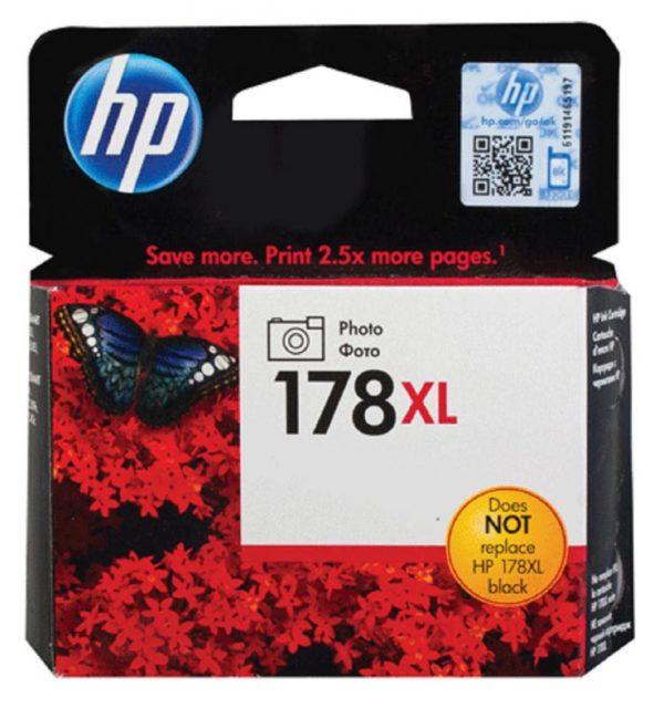 Картридж HP CB322HE №178XL фото-черный увеличенный для Photosmart C5383/C6383