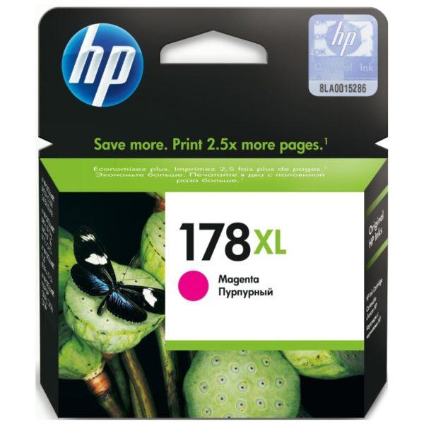 Картридж HP CB324HE №178XL малиновый увеличенный для Photosmart C5383/C6383