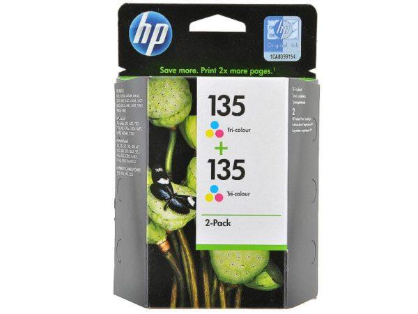 Картридж HP CB332HE №135 2шт./упак. цветной для DeskJet 5743/6543/6843