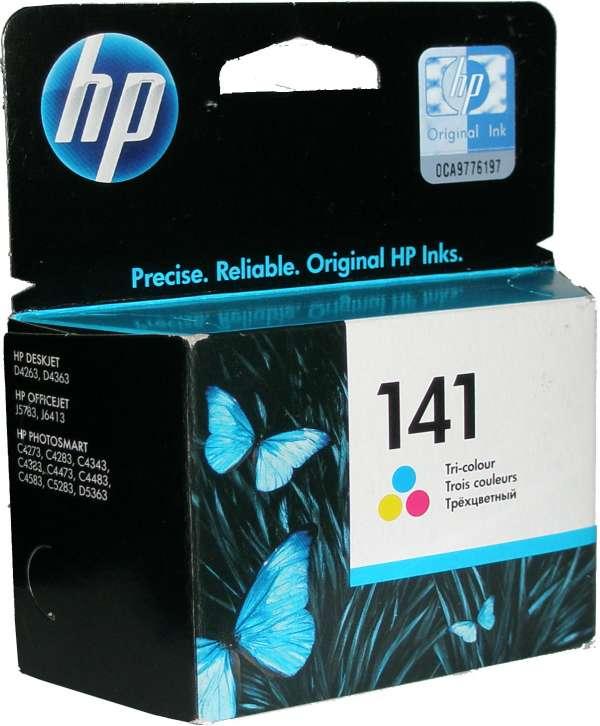 Картридж HP CB337HE №141 цветной стандартный для OfficeJet J5783