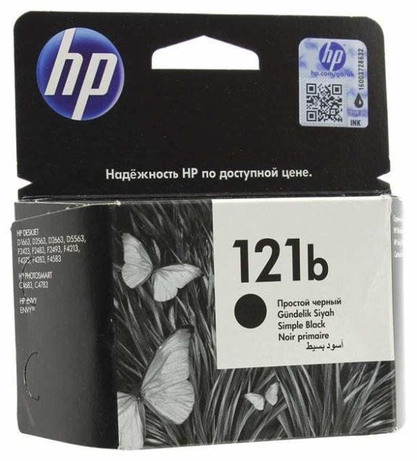 Картридж HP CC636HE №121b черный уменьшенный для DJD2563/F4283/D5563/F2423/D1663/F4213/D2663/D2563/F