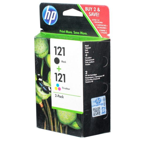 Картридж HP CC640HE + CC643HE №121 для DJD2563/F4283/D5563/F2423/D1663/F4213/D2663/D2563/F2493/F4583