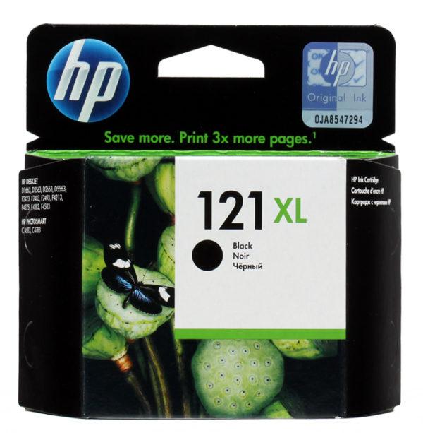Картридж HP CC641HE №121XL черный увеличенный для DJD2563/F4283/D5563/F2423/D1663/F4213/D2663/D2563/