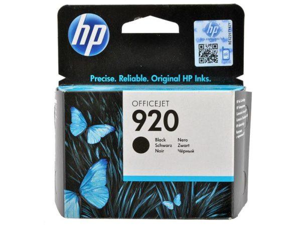 Картридж HP CD971AE №920 черный стандартный для J4580/4660/4680