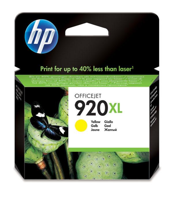 Картридж HP CD974AE №920XL желтый для J4580/4660/4680