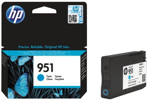 Картридж HP CN050AE №951 голубой для Officejet OJPRO8600