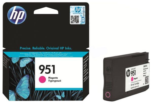 Картридж HP CN051AE №951 малиновый для Officejet OJPRO8600