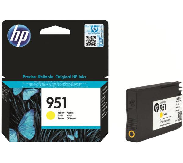 Картридж HP CN052AE №951 желтый для Officejet OJPRO8600