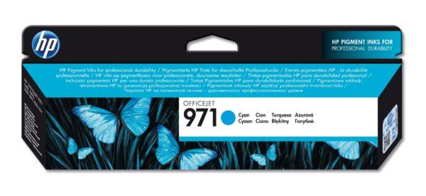 Картридж HP CN622AE №971 голубой стандартный для Officejet X451dw/X476dw/X551dw 2500стр