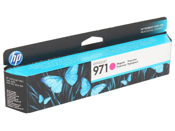 Картридж HP CN623AE №971 малиновый стандартный для Officejet X451dw/X476dw/X551dw 2500стр