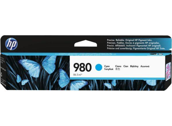 Картридж HP D8J07A №980 синий для Officejet Enterprise Color X585/X555