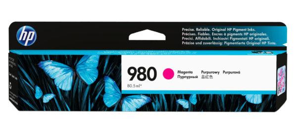 Картридж HP D8J08A №980 малиновый для Officejet Enterprise Color X585/X555