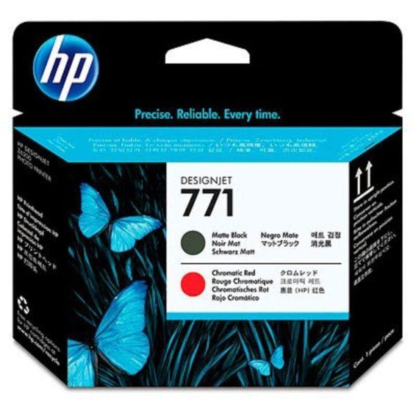 Печатающая головка HP CE017A №771 матовыйчерный/хроматическийкрасный для Designjet Z6200/Z6200/Z6800