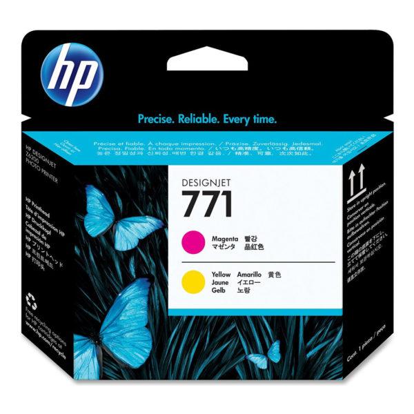 Печатающая головка HP CE018A №771 малиновый/желтый для Designjet Z6200/Z6200/Z6800