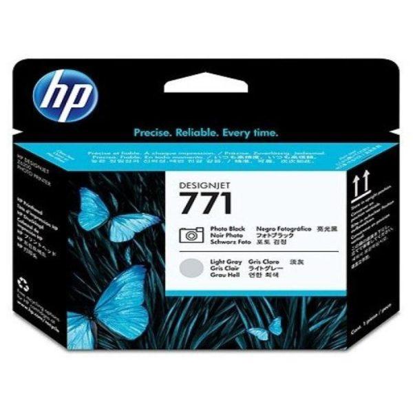 Печатающая головка HP CE020A №771 черный/светло-серый для Designjet Z6200/Z6200/Z6800