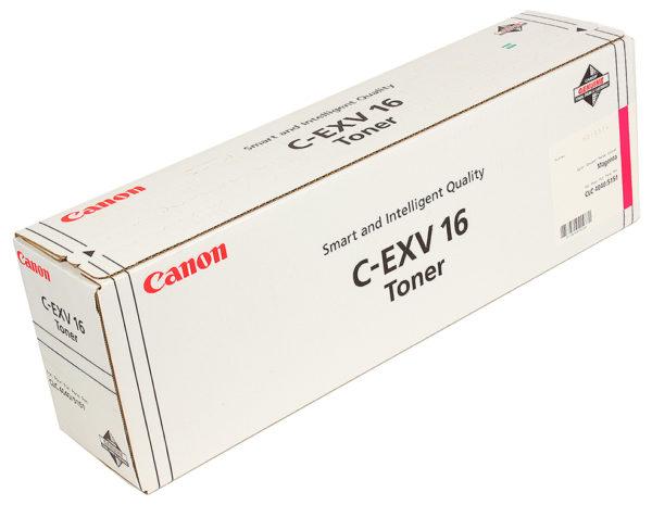 Тонер CANON C-EXV16M малиновый для CLC-4040/CLC-4141/CLC-5151