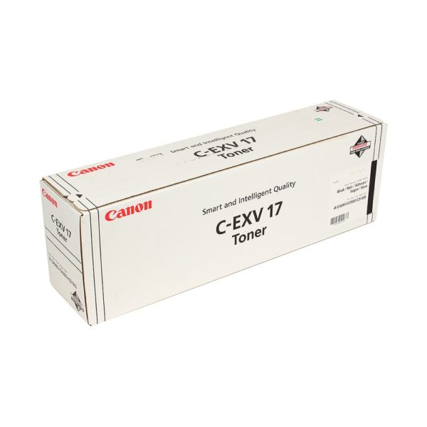 Тонер CANON C-EXV17Bk черный для iRC 4080/4580/5180