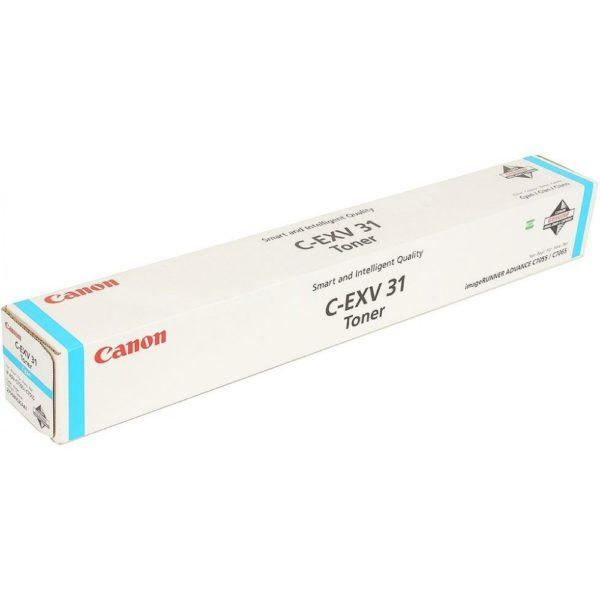 Тонер CANON C-EXV31C синий для iR-ADV C7055/ C7065
