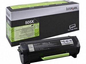 Тонер-картридж LEXMARK 50F5X00 черный для MS410/510/610