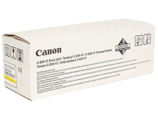 Драм-картридж CANON  C-EXV47Y желтый для iR Advance C250i/350i/C351iF