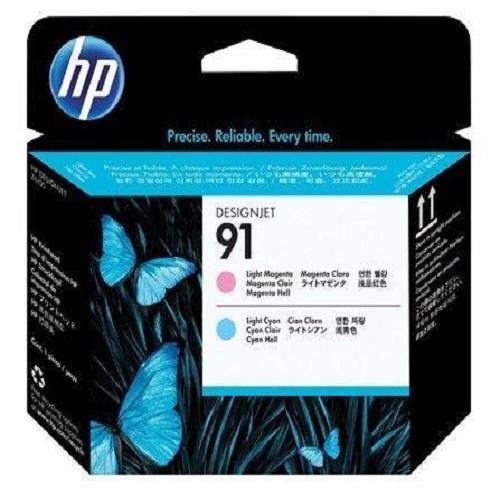 Печатающая головка HP C9462A №91 светло-пурпурная+светло-голубая для Designjet Z6100