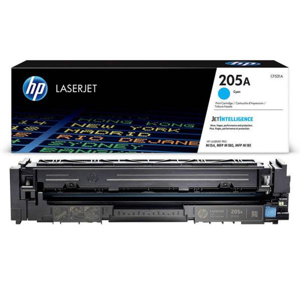 Картридж HP CF531A синий для LJ Pro M254/280/281