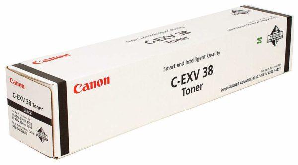 Тонер CANON C-EXV38 черный для iR ADV 4045i/4051i серии