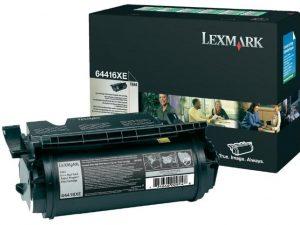 Тонер-картридж LEXMARK 64416XE черный для T644