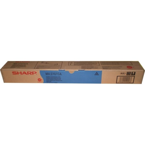 Тонер SHARP MX-27GTCA синий для MX2300N/2700N/3500N