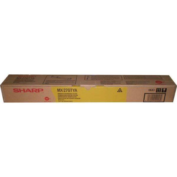 Тонер SHARP MX-27GTYA желтый для MX2300N/2700N/3500N