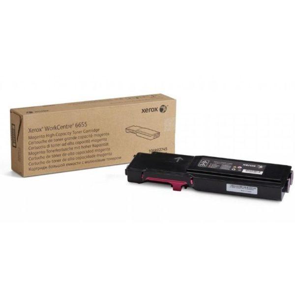 Картридж XEROX 106R02753 малиновый для WC 6655